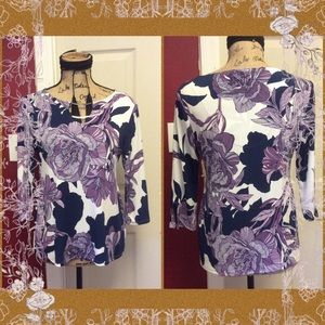 Pretty chicos floral blouse